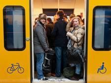 Openbaar vervoer heeft moeite met de sneeuw