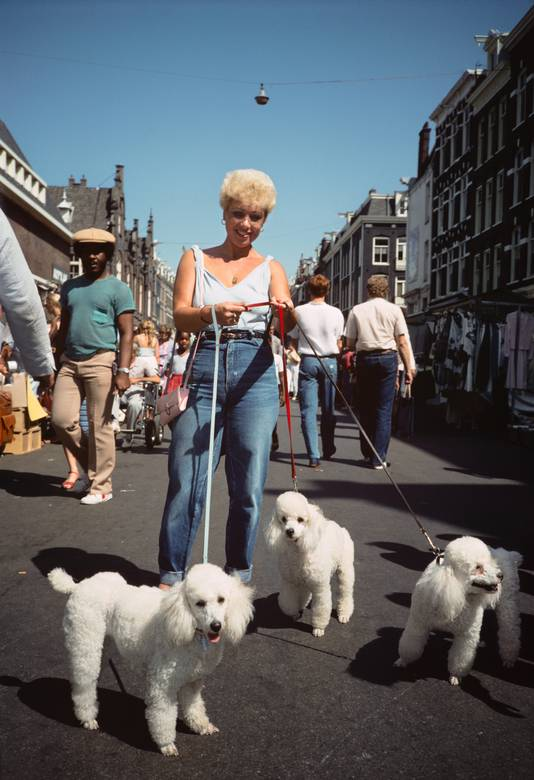Albert Cuypmarkt, Amsterdam 1983