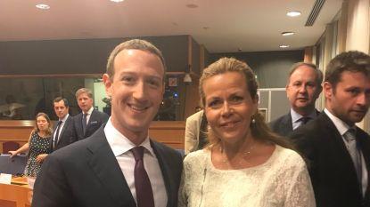Kritiek op Europarlementslid dat foto neemt met Zuckerberg