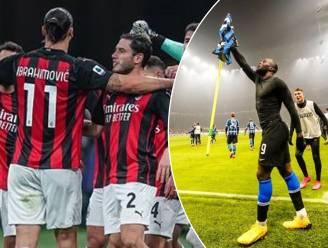 """Zlatan kietelt Lukaku: """"Er was nooit een koning in Milaan. Daar hebben ze een GOD"""""""