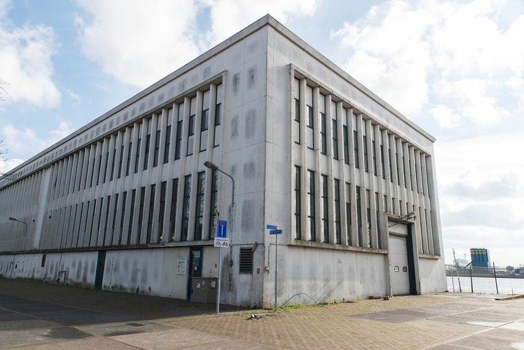 De voormalige patronenfabriek op het Hembrugterrein. Beeld Charlotte Odijk