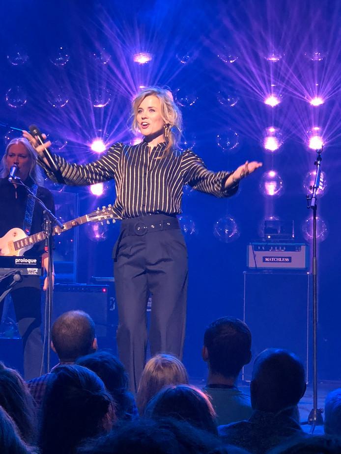 Ilse DeLange  tijdens haar concert in Doornroosje, Nijmegen.