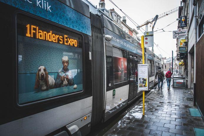 tramhalte Kortrijksepoortstraat