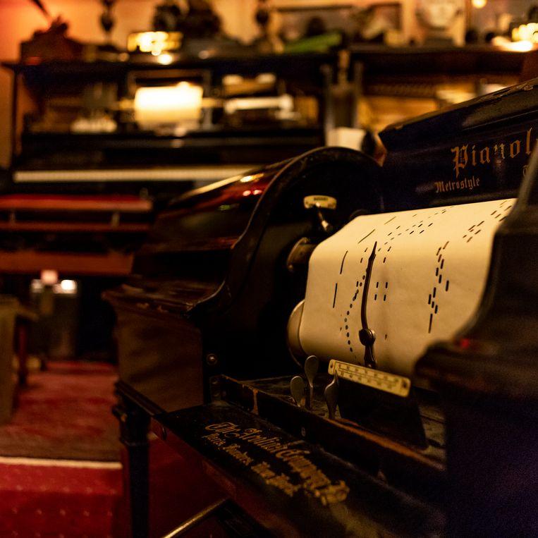 Het Pianola museum. Beeld Lin Woldendorp