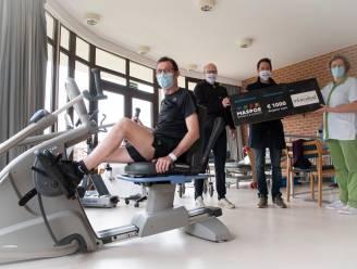 """Maspoe schenkt winst Wettelcup en deel bierverkoop aan revalidatieziekenhuis Inkendael: """"Ondanks financieel rampjaar toch blij om 1.000 euro te kunnen schenken"""""""