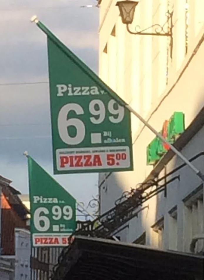 New York Pizza vlaggen