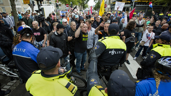 De Haagse groep organiseerde eerder ook al een anti-IS-demonstratie.