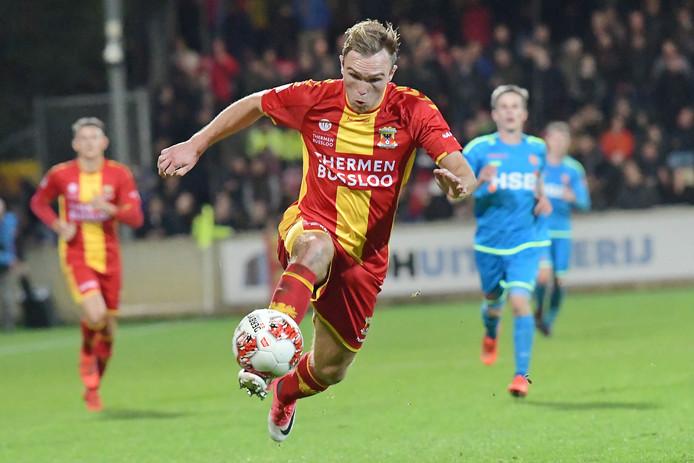 Martijn Berden was de razende aanjager van Go Ahead Eagles