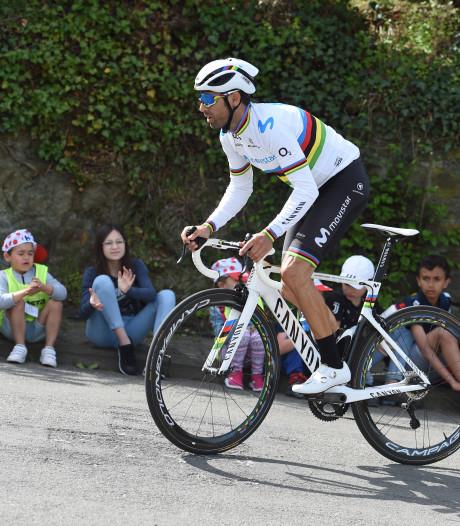 Alejandro Valverde is zichzelf niet