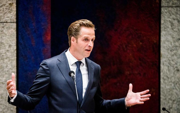 Minister Hugo de Jonge van Volksgezondheid, Welzijn en Sport. Beeld ANP