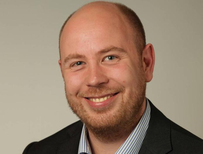 PvdA-gemeenteraadslid Eric Greving.