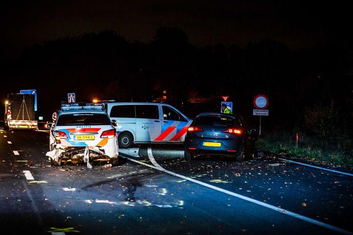 Het ongeval gebeurde zaterdagavond laat op de snelweg A270 in Nuenen (Noord-Brabant)