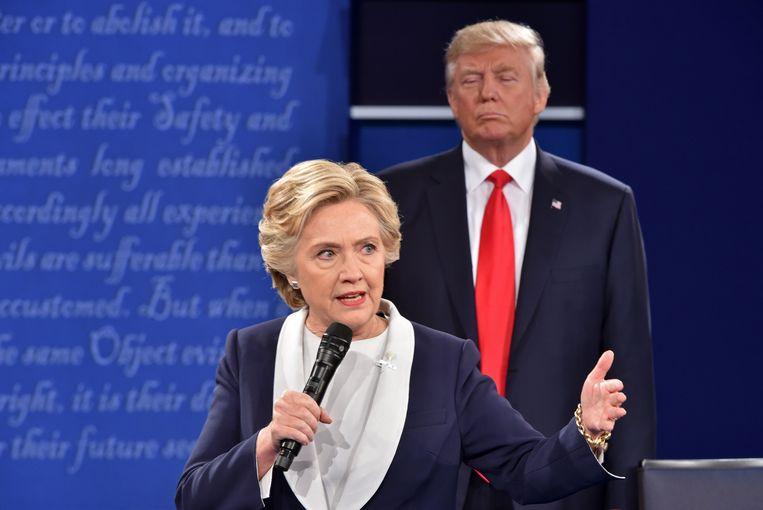 """""""Ruslands doel bestond erin het vertrouwen van het volk in het Amerikaanse democratische proces te ondermijnen, Hillary Clinton zwart te maken en haar verkiesbaarheid en mogelijk presidentschap schade te berokkenen"""", stond geschreven in een rapport in 2017."""