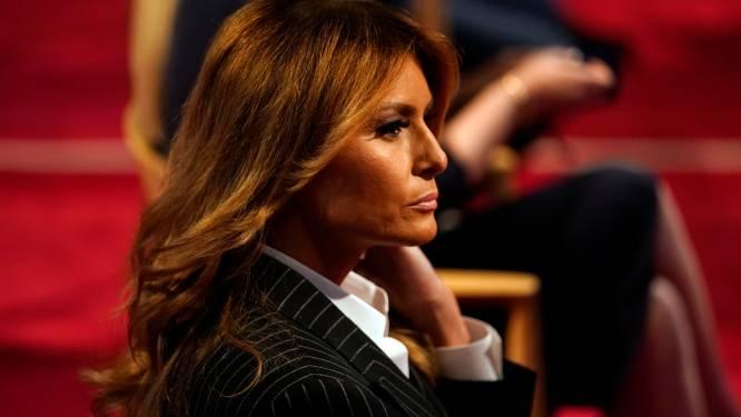 """Melania laat zich al meer dan jaar niet zien op rally's Trump: """"Ze doet niets waar ze geen zin in heeft"""""""