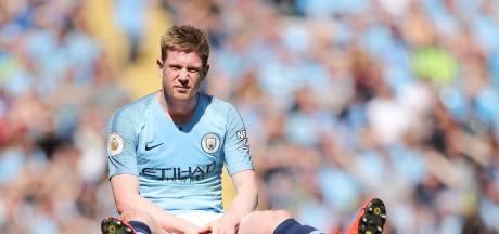 Tegenvaller voor Manchester City: De Bruyne mist derby tegen United