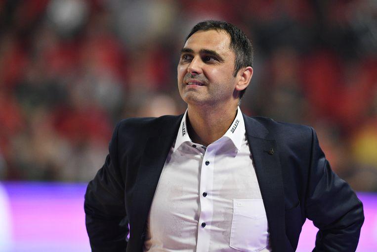 Oostende-coach Dario Gjergja.