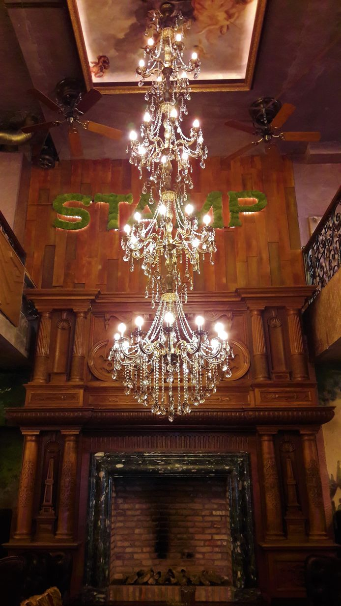 Hotel en restaurant The Stamp in de Karrenstraat