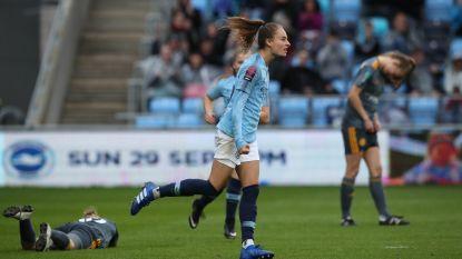 Tessa Wullaert en City geven Champions League-zege uit handen in slotminuten