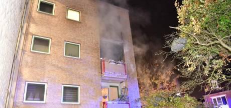 Brand op appartementencomplex in Eindhoven door bovenburen ontdekt, bewoners op tijd in veiligheid