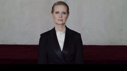Actrice Cynthia Nixon geprezen om video die onrealistische verwachtingen voor vrouwen aankaart