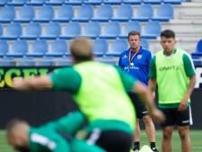 Stegeman doet het nu tóch: ook hij gaat met PEC Zwolle voortaan besloten trainingen houden