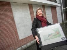 Ontwerp ijsvogeltableau in Eibergen aangepast aan de komst van kolen en meloenen