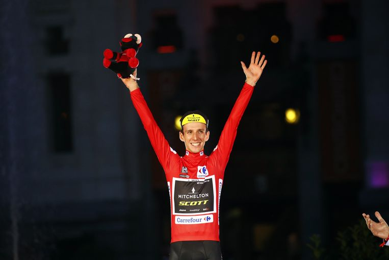 Vuelta Espana 2018 - 73th Edition - 21th stage Alcorcon  :  Madrid 112.3 km - 16/09/2018 - Simon Yates (GBR - Mitchelton - Scott) - photo Luca Bettini/BettiniPhoto©2018 ! only BELGIUM !