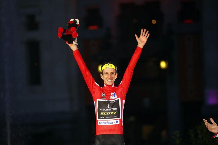 Simon Yates won vorig jaar de Vuelta.