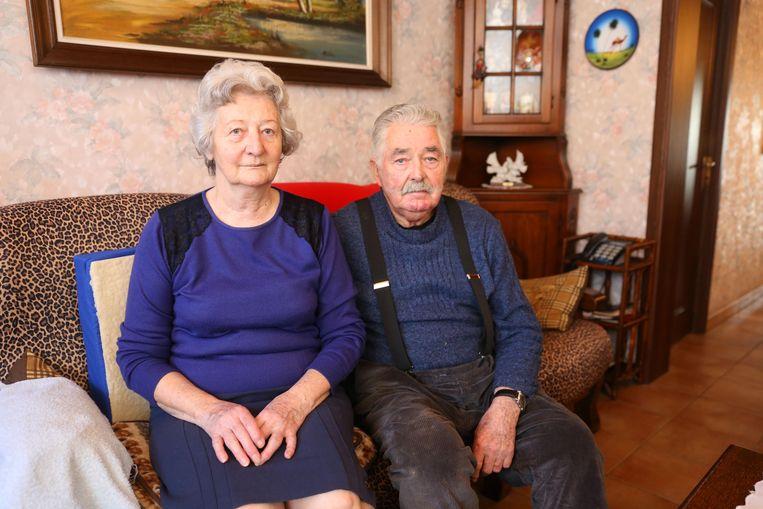 Lucienne Van de Steen en Jean Van Hove zien een gedwongen verhuis niet zitten.