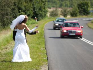 Studenten die als bruidspaar deelnamen aan liftwedstrijd, nu ook echt getrouwd