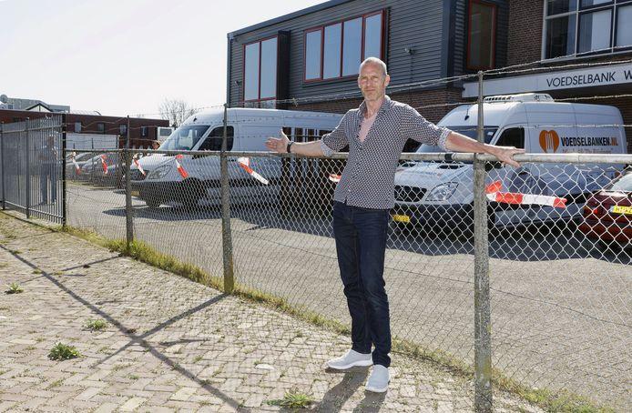 Michel Verschuren, buurman van de voedselbank is de overlast beu.