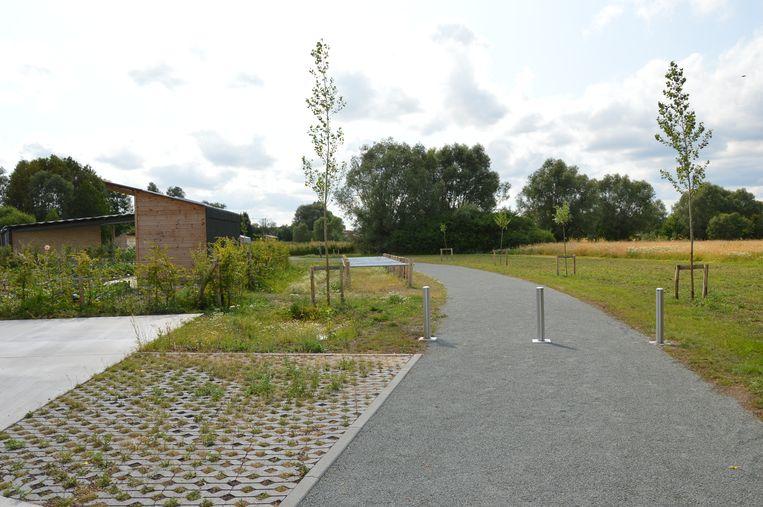 Het nieuwe volkstuincomplex Graafland in Ninove.