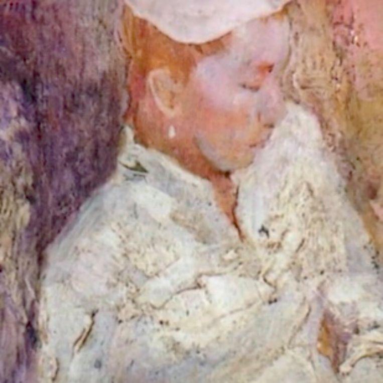 Gekes lievelingsportret, door Matthijs Röling. Beeld Fragment uit documentaire over Geke van Herman Tulp