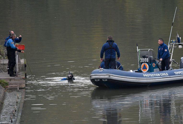 In oktober 2017 zochten speurders opnieuw in het kanaal van Ronquières.
