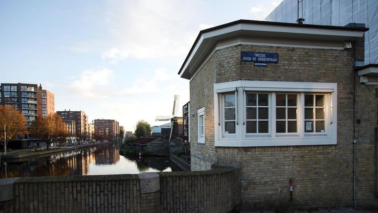 Het brugwachtershuisje bij de Beltbrug Beeld Mirjam Bleeker / Sweets Hotel