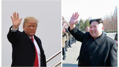 """Van """"kleine raketman"""" tot """"gestoorde president"""": de opvallendste uitspraken van Donald Trump en Kim Jong-un"""