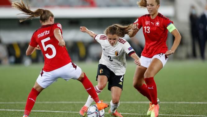 """Red Flame Davina Philtjens: """"We zijn klaar om nederlaag in Zwitserland recht te zetten, zo kunnen we als groepswinnaar naar EK"""""""