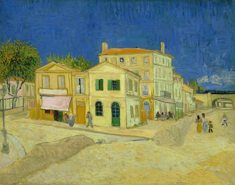 Vincent van Gogh, Het gele huis (De straat), 1888. In bezit van het Van Gogh Museum. Beeld Maurice Tromp