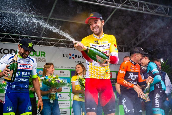 Jesús Herrada, onlangs nog winnaar van de Ronde van Luxemburg.