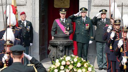 Koning Filip herdenkt 252 gesneuvelde Belgische militairen