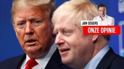 Onze opinie. Het is pretentieus om als Belg te verwijzen naar het geklungel van Donald Trump of Boris Johnson