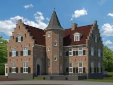 In Ruurlo wordt dit nieuwe 'kasteel' gebouwd, niet van middeleeuwse kastelen te onderscheiden