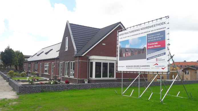 Nieuwbouwwoningen Woongoed in wijk Noordwesthoek in Breskens.