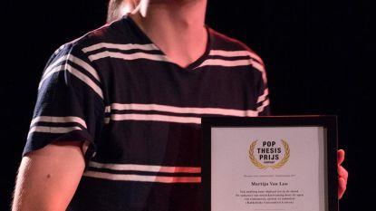 Martijn wint prijs voor scriptie
