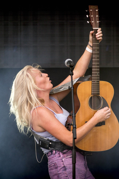 Aftrap van tournee Sanne Hans in Flint: 'Ik heb zoiets van: fuck it!'