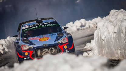Thierry Neuville is snelste in shakedown Rally van Zweden