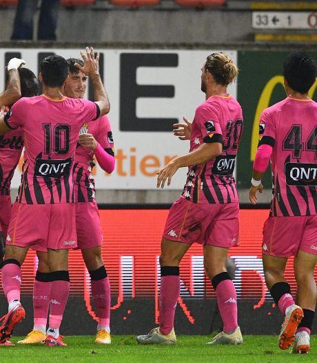 Charleroi perd ses premiers points à Mouscron mais reste invaincu