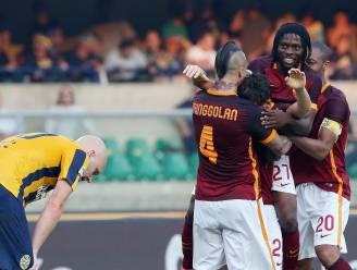 Florenzi redt punt voor Roma in seizoensopener