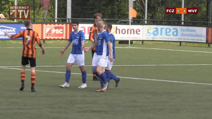 Een discutabele goal in Zutphen