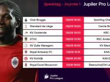 Un choc Bruges-Charleroi d'entrée, Anderlecht ira à Saint-Trond: le calendrier de la Pro League 2020-2021